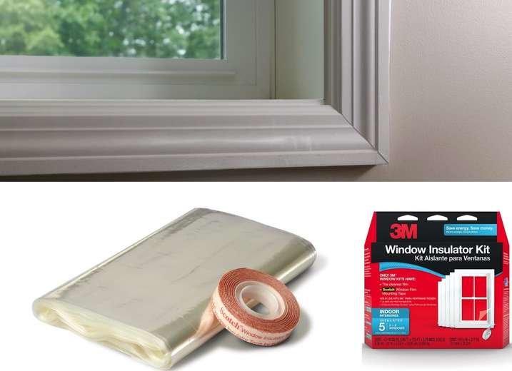 Cheap window insulation drafts
