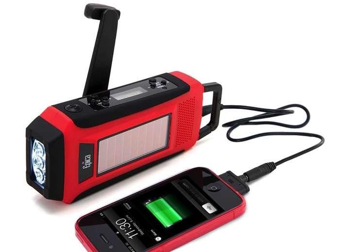 Cheap emergency radio