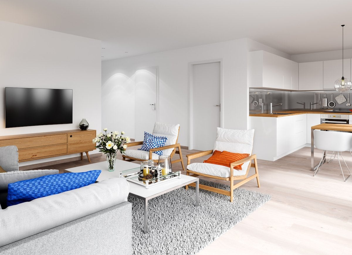 make living room spacious using simple and smart tricks best interior design services If you can, swap out heavy furniture for pieces with slimmer profiles. Opt  for sofas with exposed legs and low tables made of materials like wrought  iron, ...