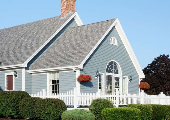 Slate Blue Home Exterior