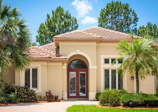 Tropical Home Exterior Paint Color
