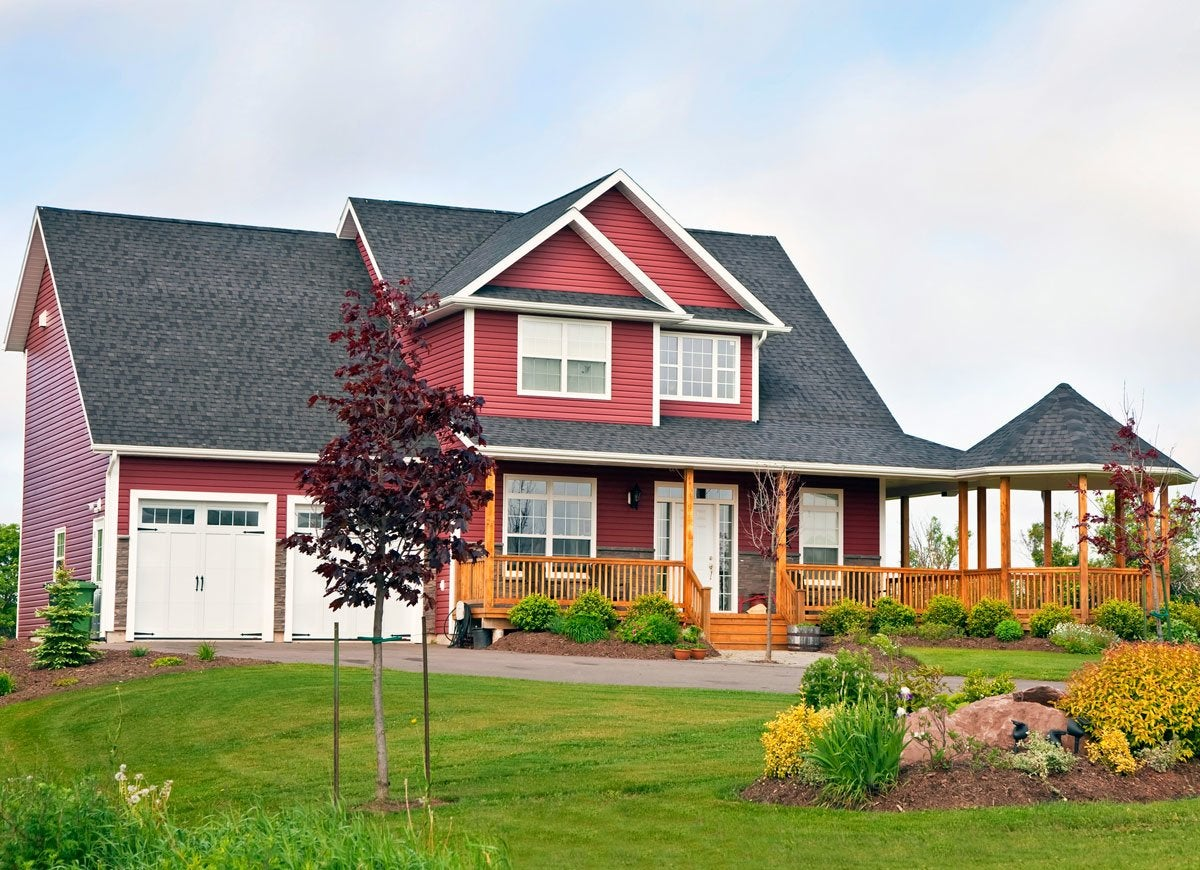 Red Exterior Paint Color