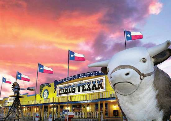 The Big Texan in Amarillo, TX