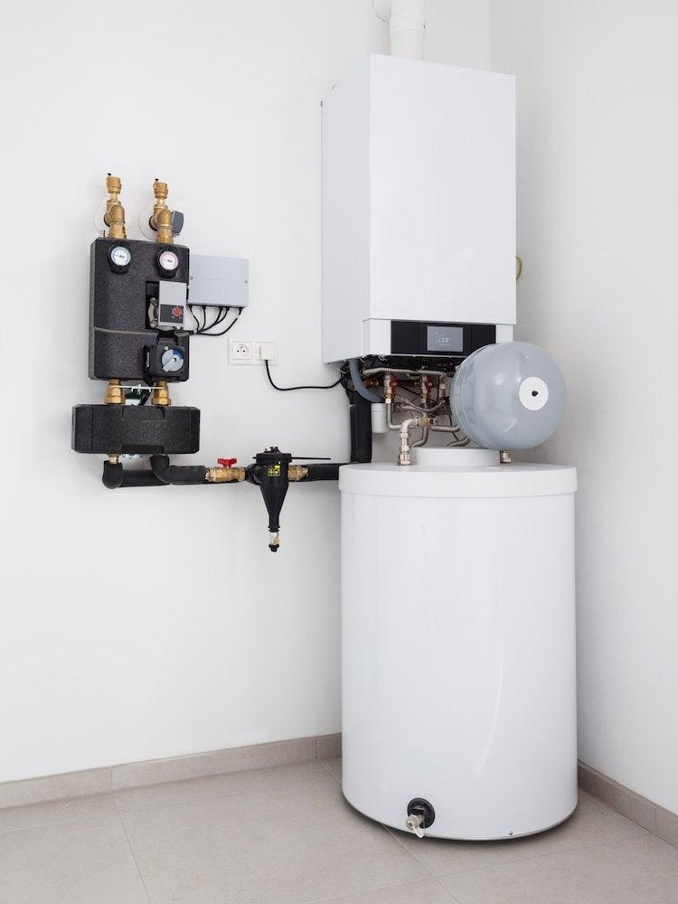Mold on boiler