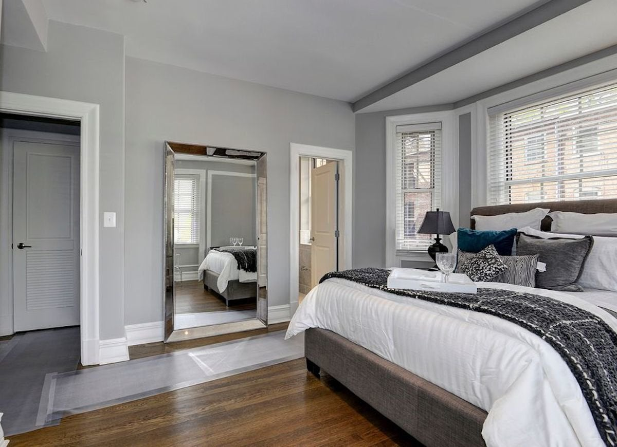 Gray Painted Rooms
