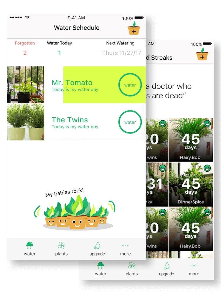 Happy plant app