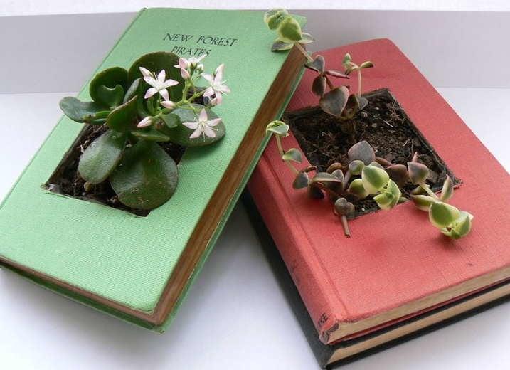 Book Planter