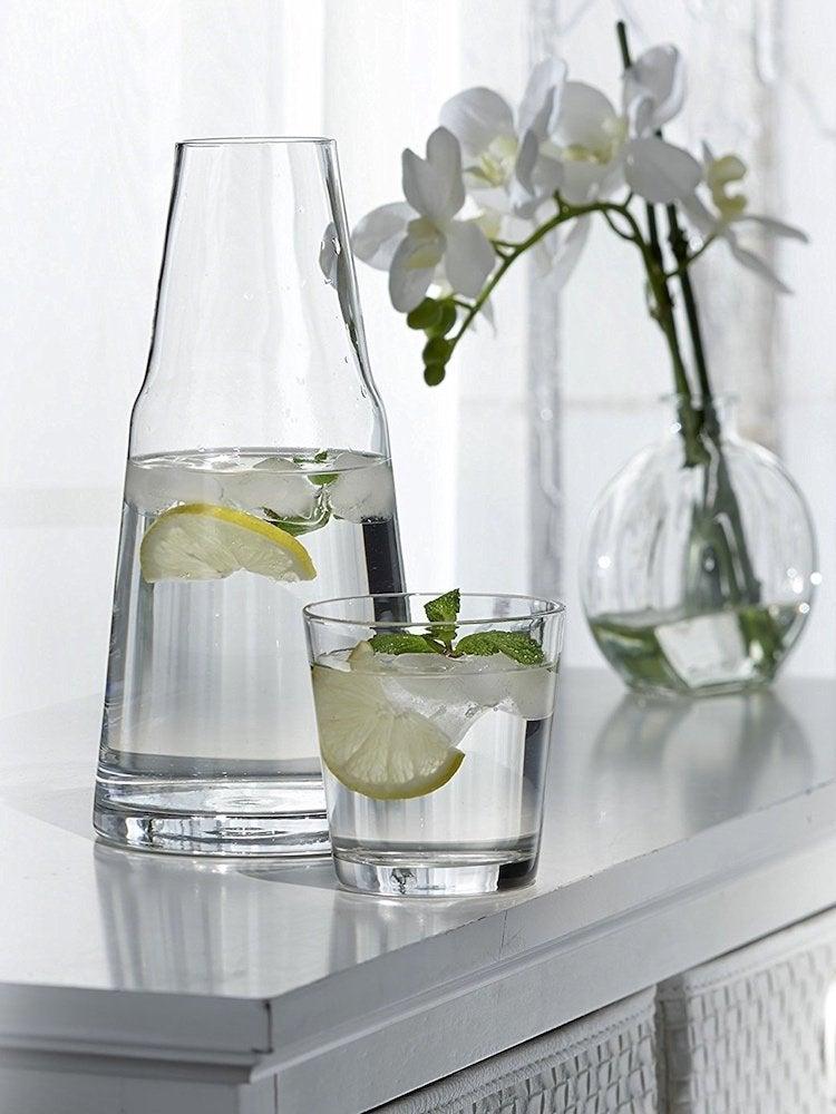 Bedside water carafe