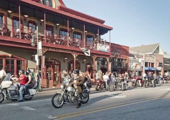 Dickson Street Fayetteville Arkansas