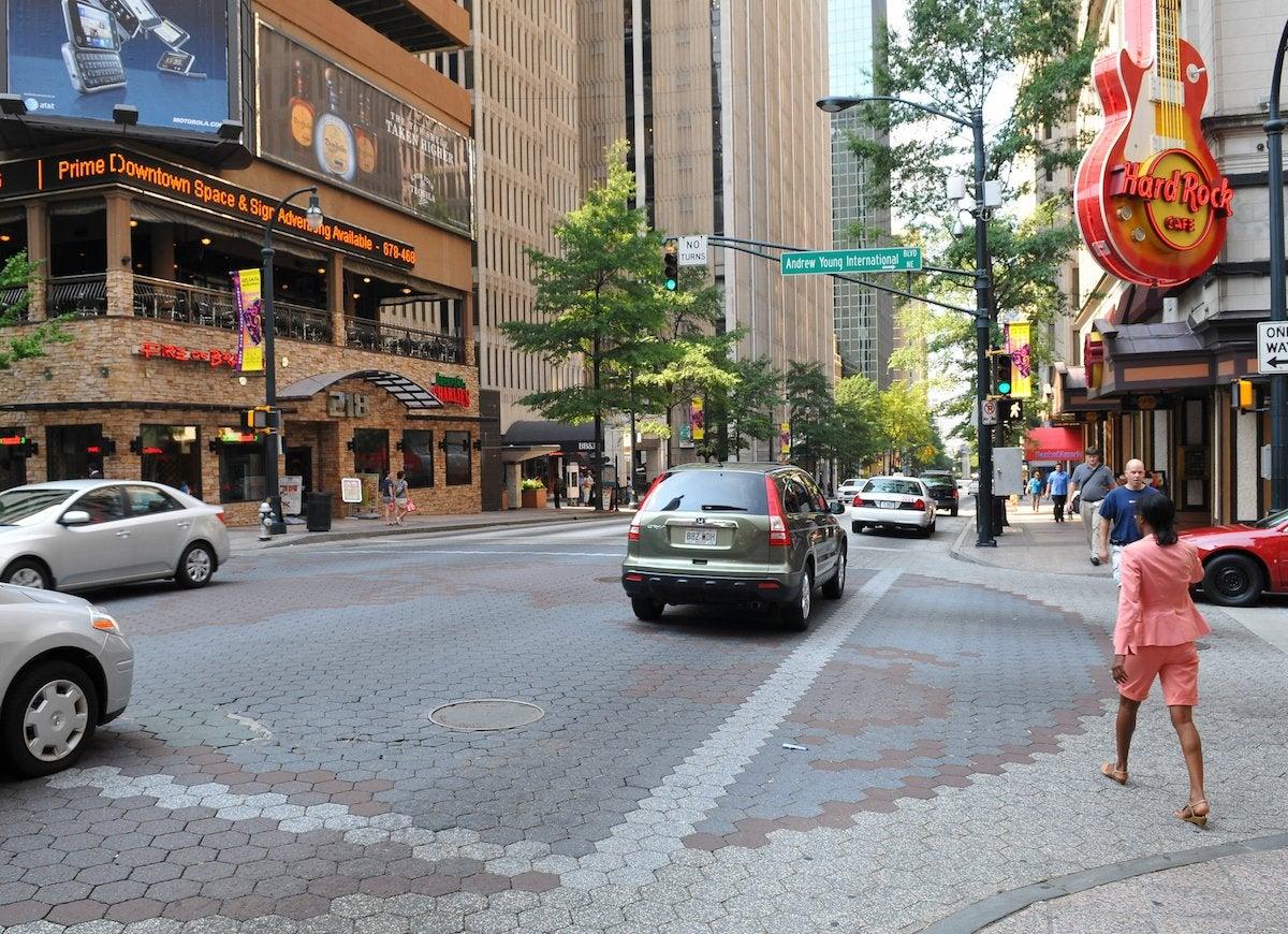 Peachtree street atlanta