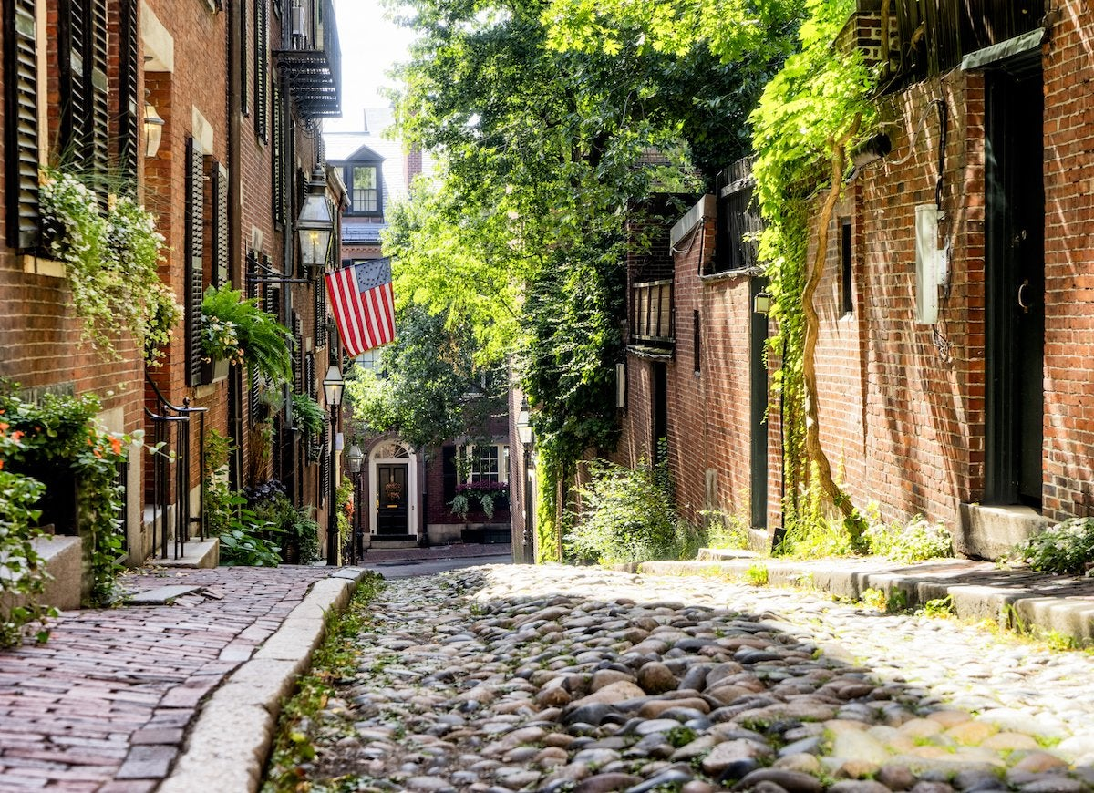 Acorn street boston ma