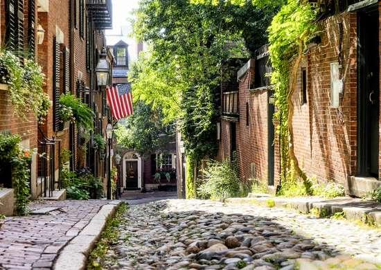 Acorn Street Boston