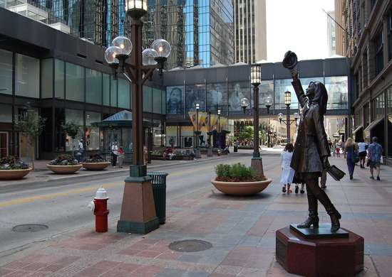 Nicollet mall minneapolis