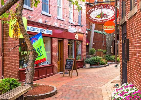 Commerical alley portsmouth nh