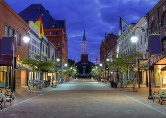 Church Street Burlington Vermont