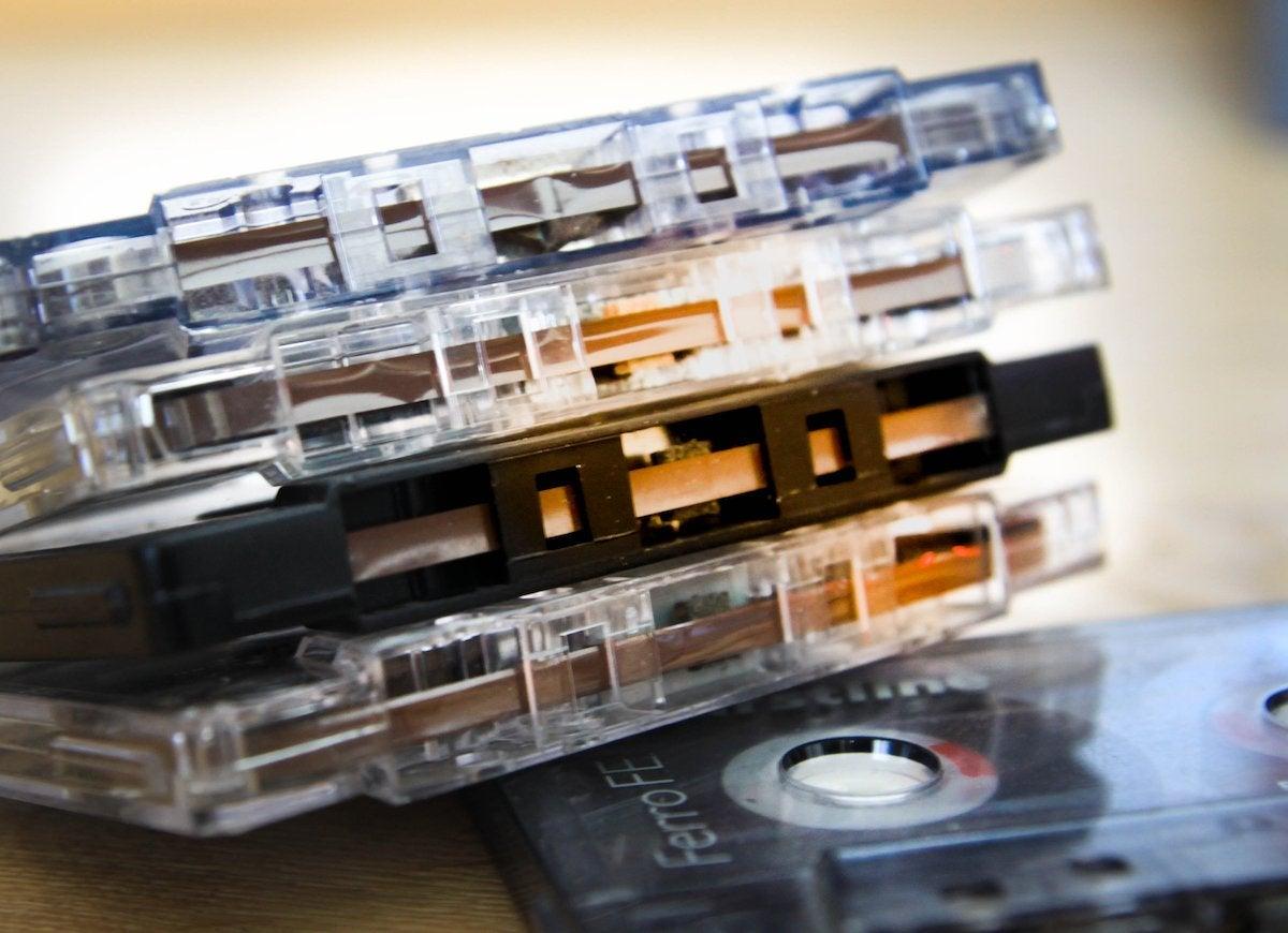 Digitize cassettes