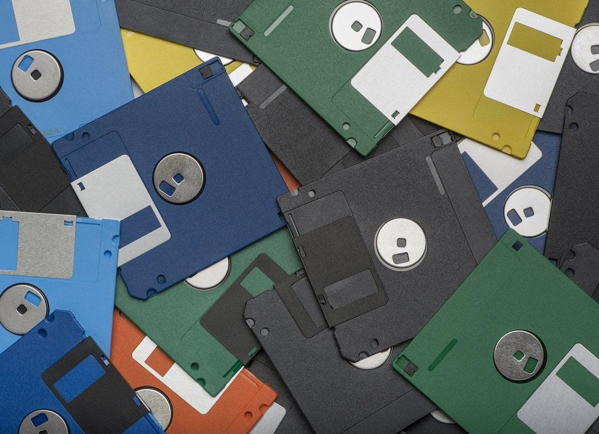 Digitize floppy disks