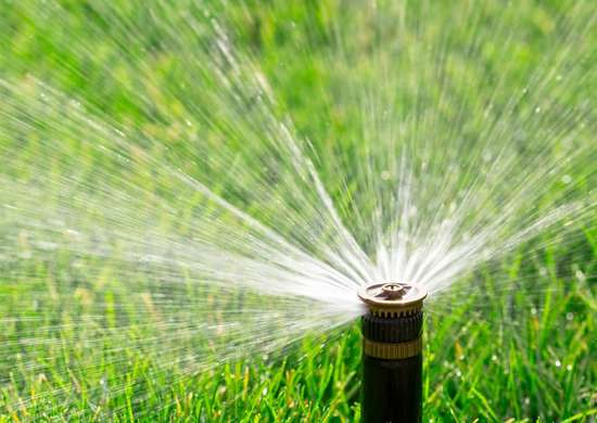 ROI for Lawn Sprinkler System