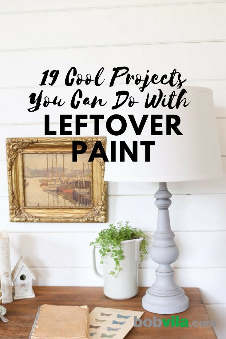 19 cool projects you can do with leftover paint