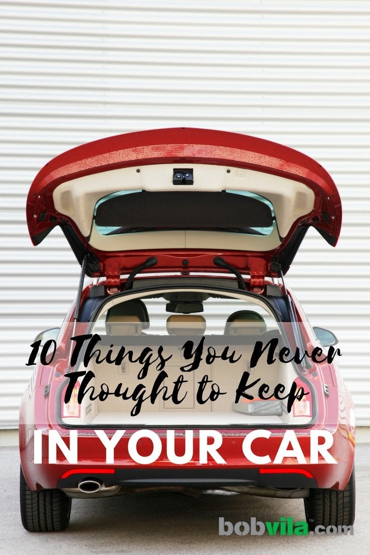10 things you never thought to keep in your car