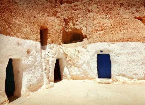 Tunisian Cave Homes