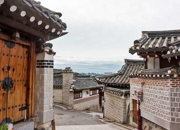Hanok Homes in Korea