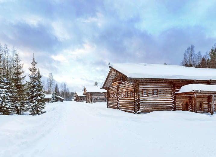 Izba in Russia