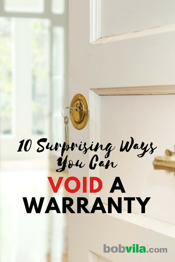 10 surprising ways you can void a warranty
