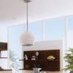 range hood ideas overhead light