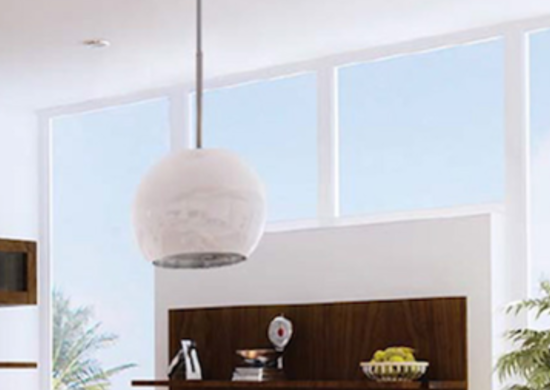 range hood ideas overhead light