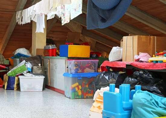 Seller Left Belongings in New Home