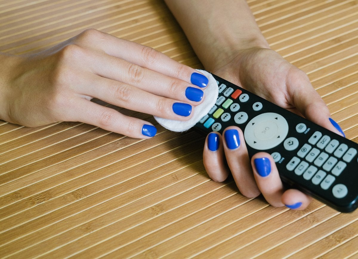 Cleaning remote