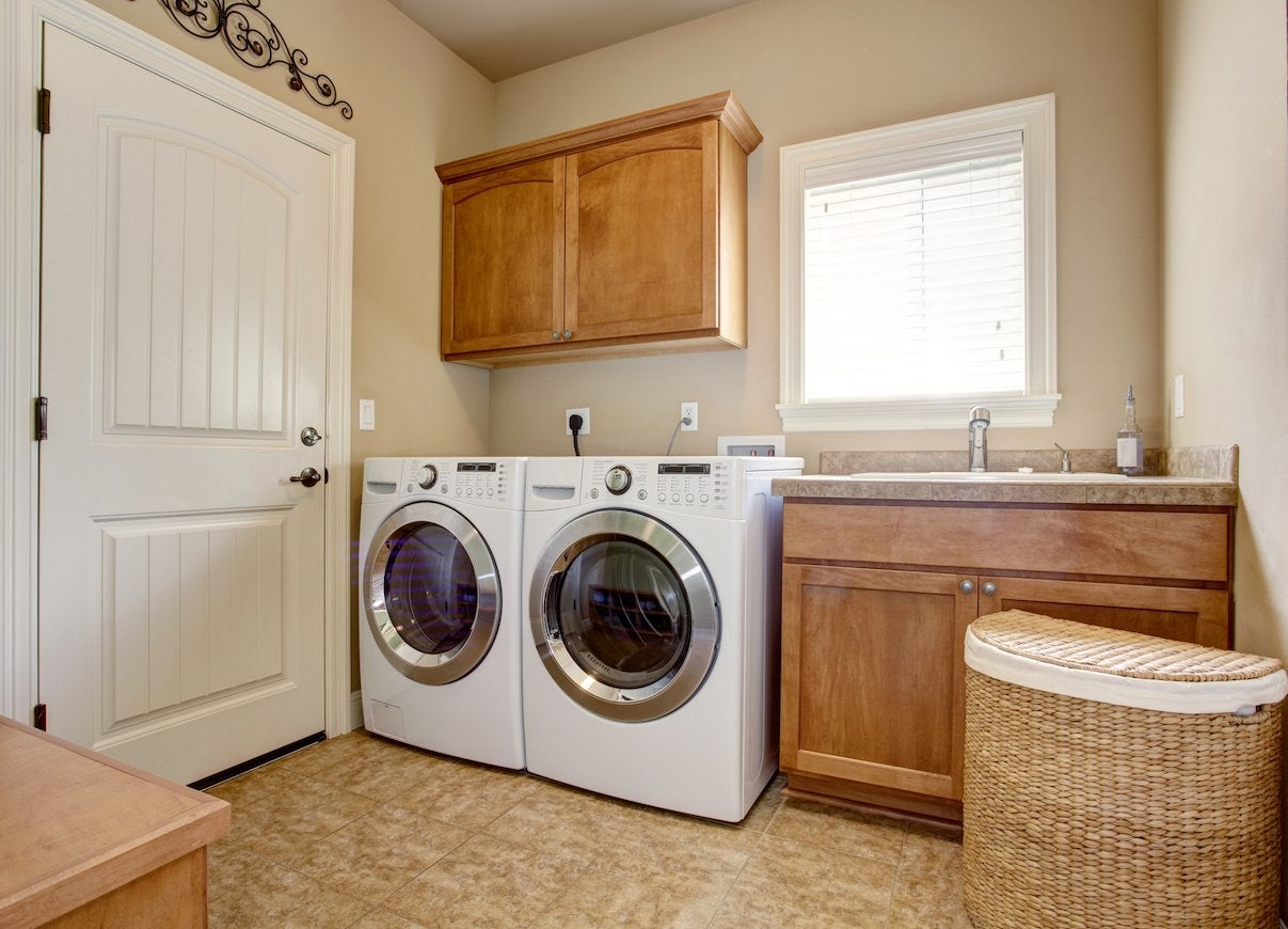 Clean washer dryer