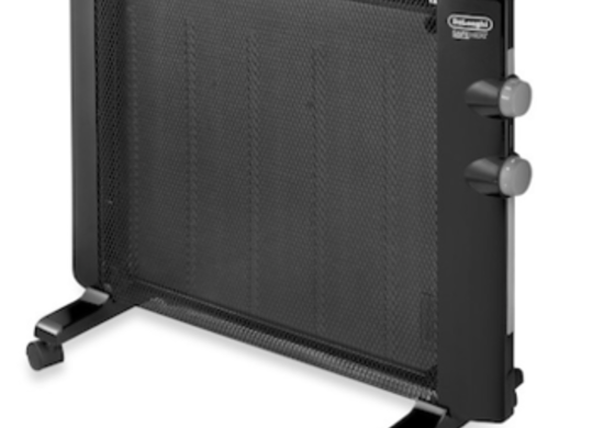Delonghi wallmountable mica panel spaceheater