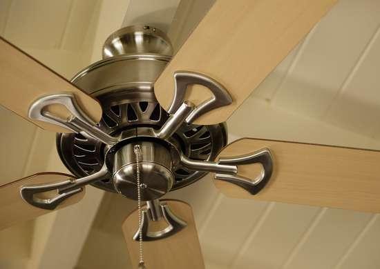 Vacuum Ceiling Fan