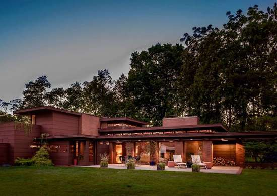 Frank Lloyd Wright House for Rent