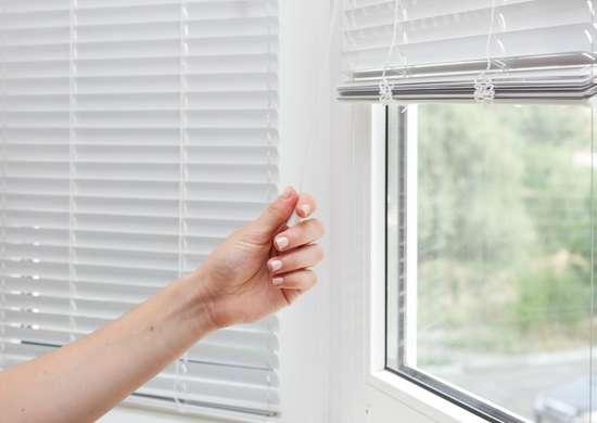 Bathe the blinds.