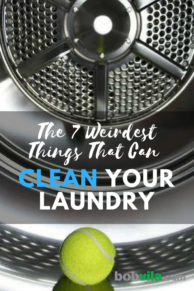 The 7 weirdest things that can clean your laundry