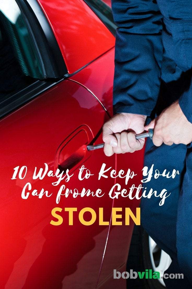 10 ways to keep your car from getting stolen