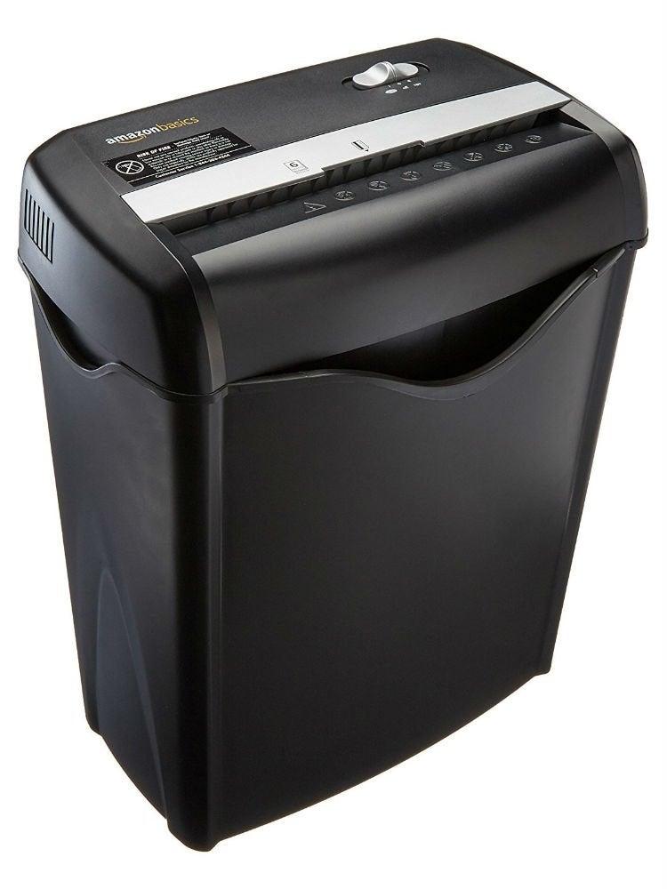 Amazonbasics 6sheet paper creditcard shredder