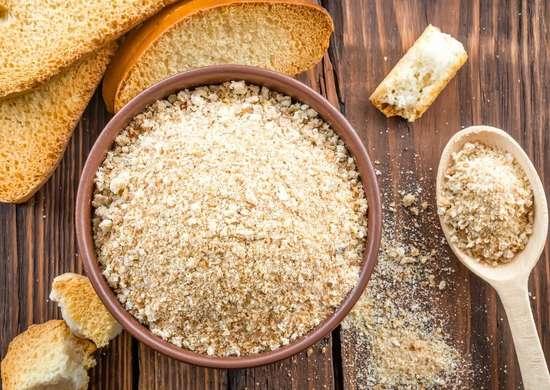 Make Bread Crumbs in Coffee Grinder