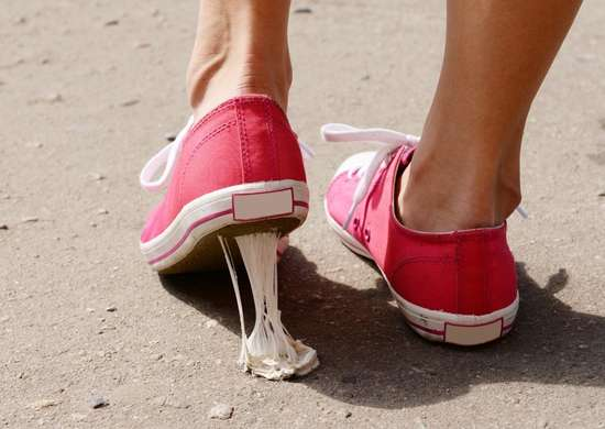 How to Get Gum Off Of Shoes