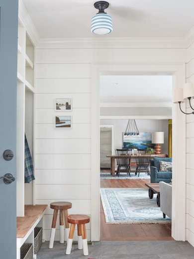 Shiplap Mudroom Kristina Crestin Design