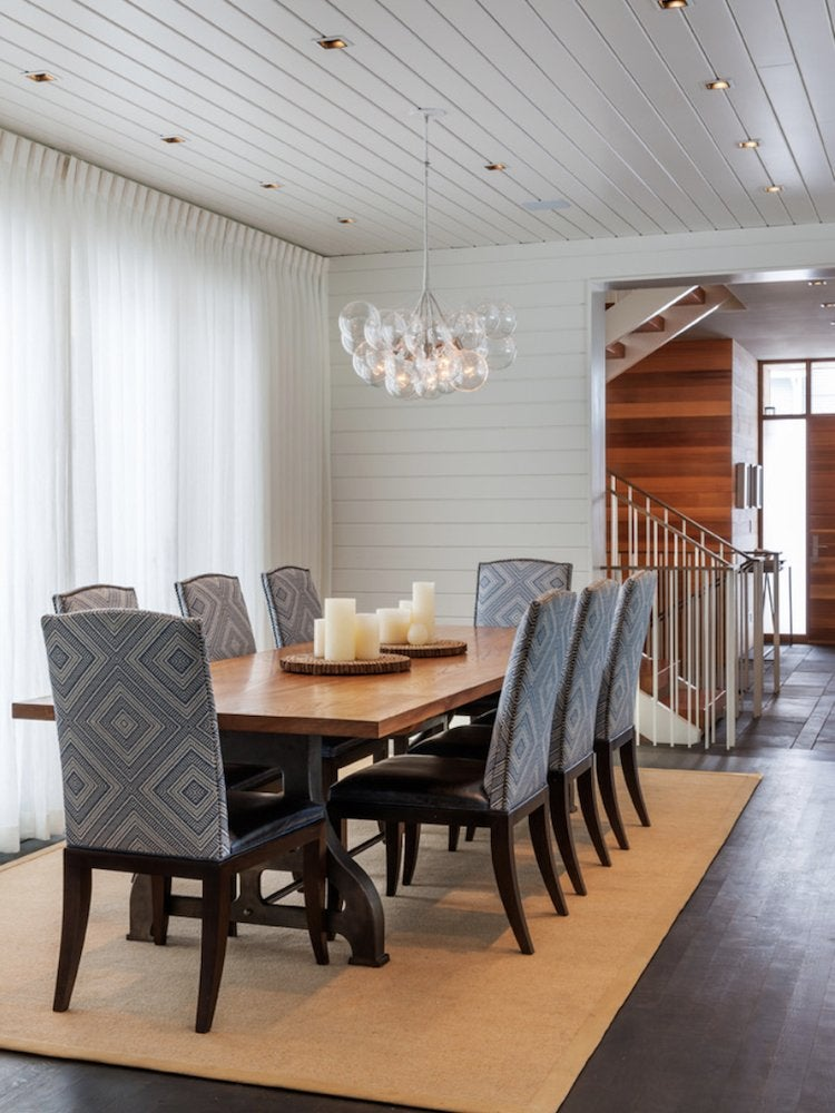 Shiplap dining room