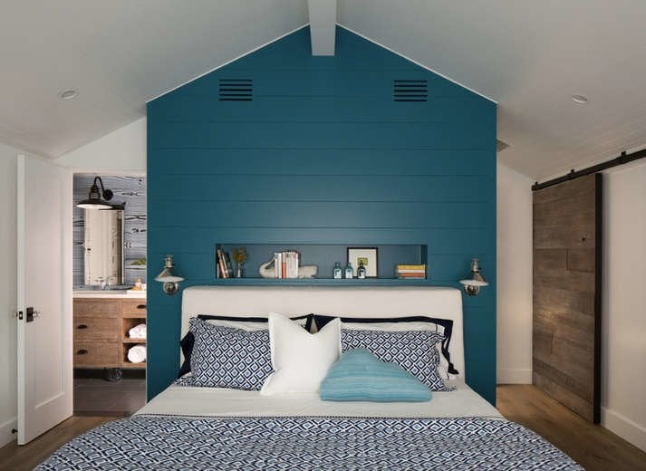 Shiplap Bedroom