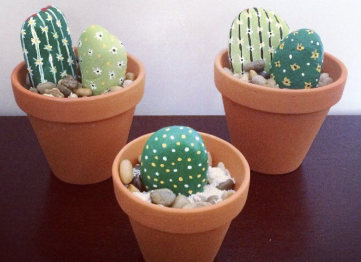 Rock Art Cacti