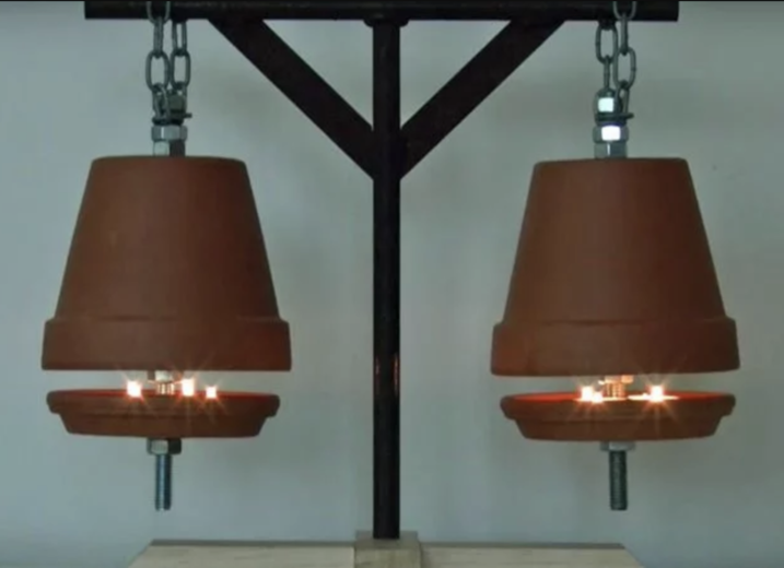 Terra Cotta Pot Heaters