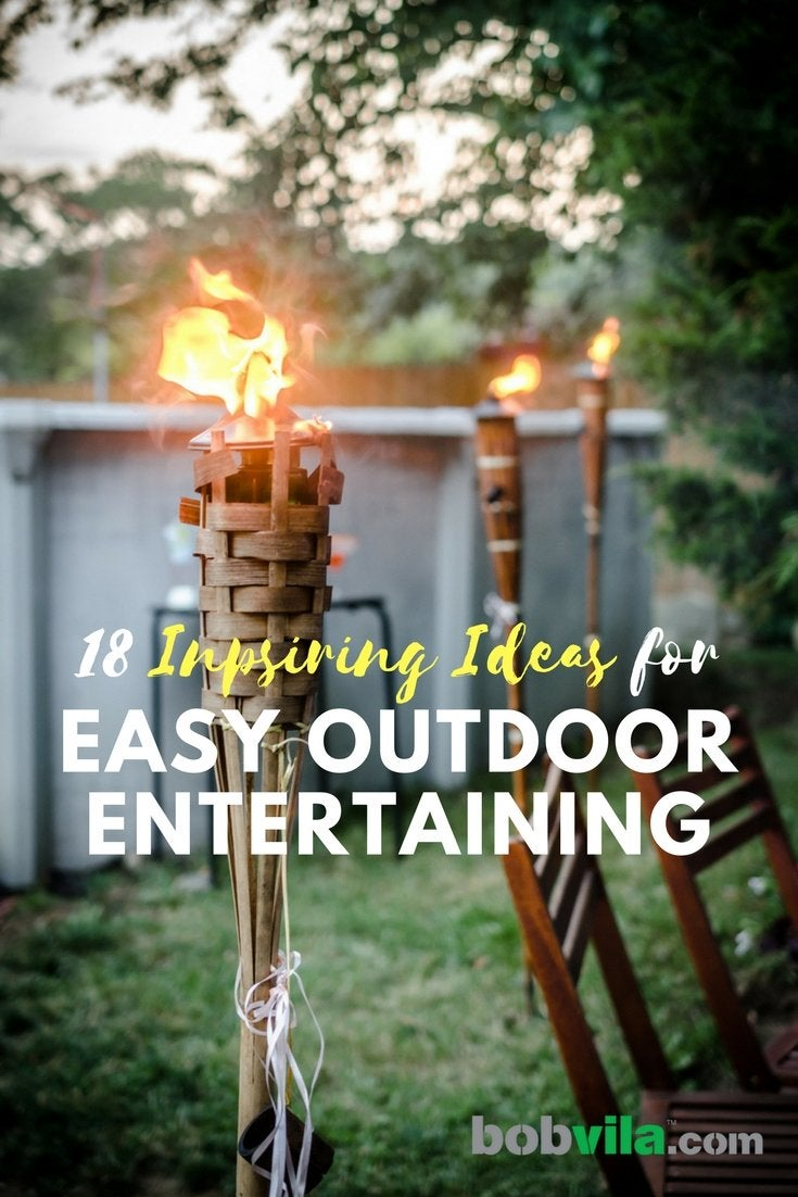 Inspiring ideas for easy outdoor entertaining