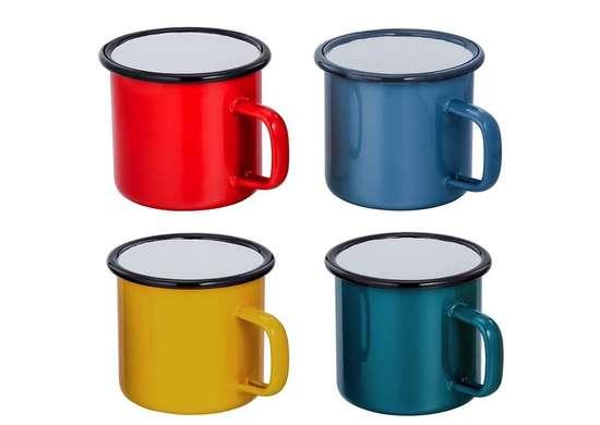 Colorful Enamel Mug Set