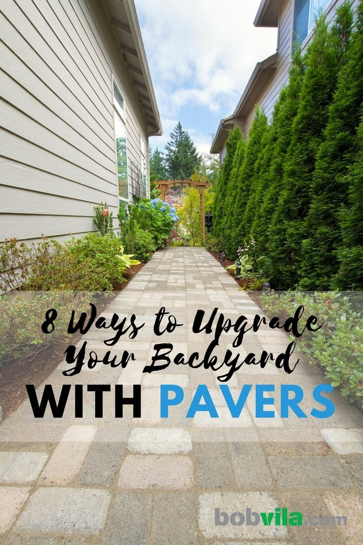 Upgrade your backyard with pavers